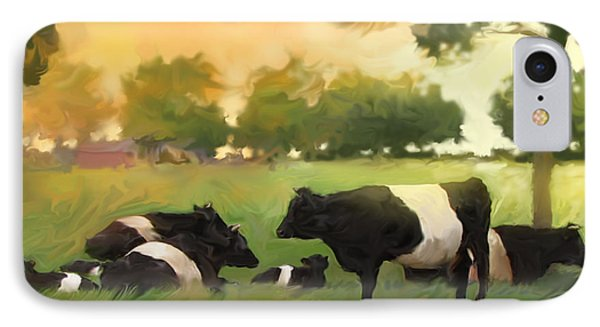 Oreo Cows IPhone Case by Curtis Chapline