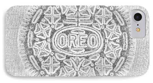 Oreo In Grey IPhone Case by Rob Hans