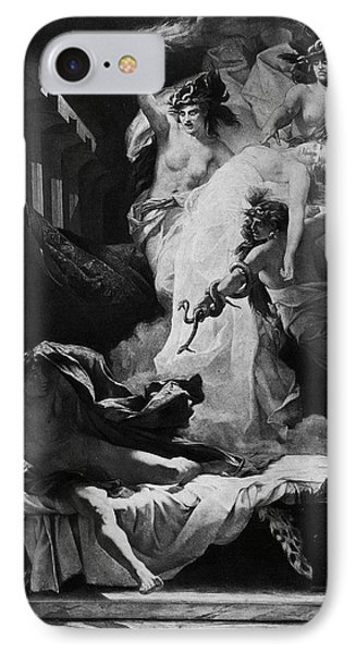 Orestes And Furies IPhone Case by Granger