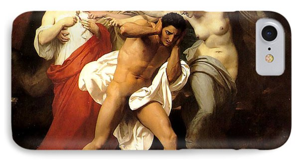 Orestes And The Furies IPhone Case by William Adolphe Bouguereau