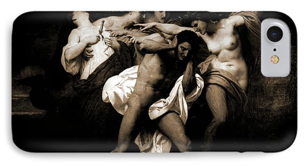 Orestes Pursued By The Furies, 1862, Bouguereau IPhone Case by Litz Collection