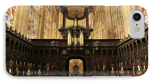 Organ And Choir - King's College Chapel IPhone Case