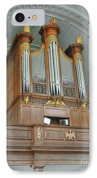 Organ At Westminster Phone Case by David Bearden