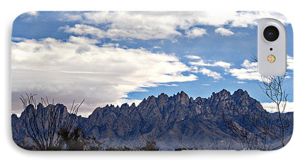 Organ Mountain Landscape IPhone Case by Barbara Chichester