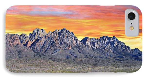 Organ Mountain Sunrise Most Viewed  IPhone Case by Jack Pumphrey