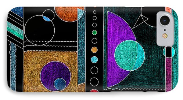 Organized Planets IPhone Case