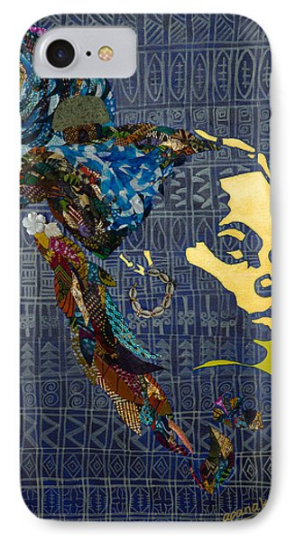 IPhone Case featuring the tapestry - textile Ori Dreams Of Home by Apanaki Temitayo M