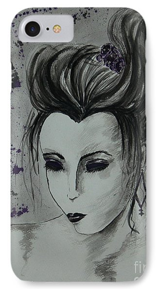 IPhone Case featuring the painting Orient Express by Tamyra Crossley