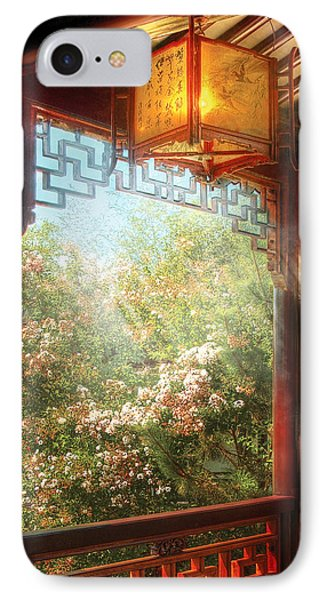 Orient - Lamp - Simply Chinese Phone Case by Mike Savad