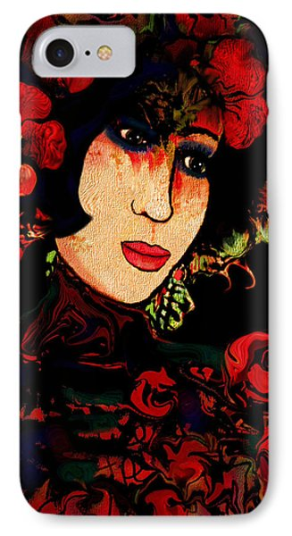 Oriental Beauty Phone Case by Natalie Holland