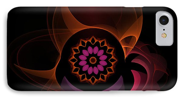 IPhone Case featuring the digital art Oriental Surprise by Hanza Turgul