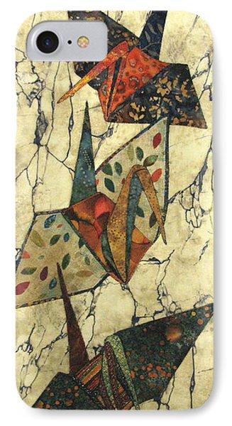Origami Cranes Phone Case by Lynda K Boardman