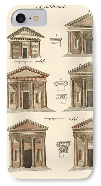 Origin And Development Of Architecture Phone Case by Splendid Art Prints