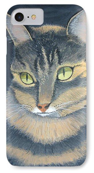 Original Cat Painting IPhone Case