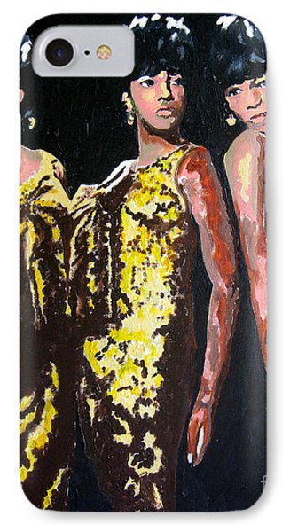 Original Divas The Supremes Phone Case by Ronald Young