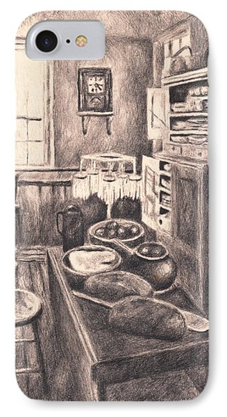Original Old Fashioned Kitchen Phone Case by Kendall Kessler