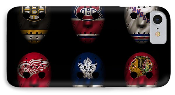 Original Six Jersey Mask IPhone Case