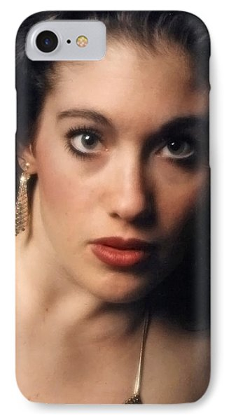 Original Used For Self Portrait  IPhone Case by Teri Schuster