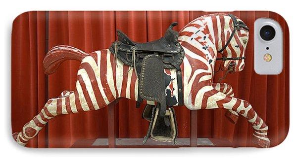 Original Zebra Carousel Ride Phone Case by Liane Wright