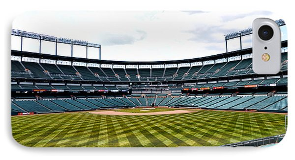 Oriole Park At Camden Yards IPhone Case by Bill Cannon
