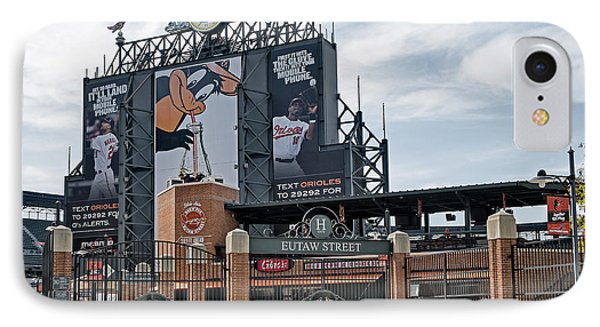 Oriole Park At Camden Yards IPhone Case by Susan Candelario