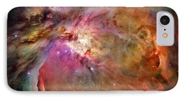 Orion Nebula Phone Case by Benjamin Yeager