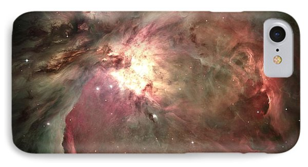 Space Hollywood - Orion Nebula IPhone Case by Marianna Mills