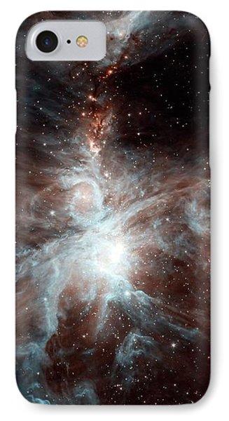 Orion Nebula IPhone Case by Nasa/jpl-caltech/j. Stauffer (ssc/caltech)