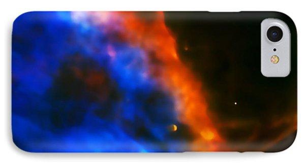 Orion Nebula Rim IPhone Case by Jennifer Rondinelli Reilly - Fine Art Photography