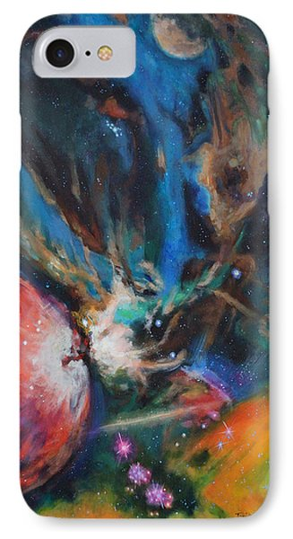 Orion Nebula IPhone Case by Toni Wolf