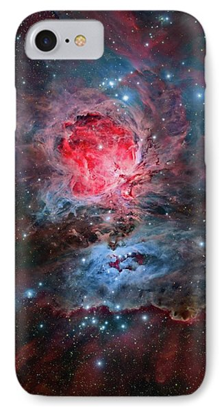 Orion Nebula IPhone Case by Tony & Daphne Hallas