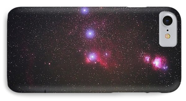 Orion Nebulae From The Canary Islands IPhone Case by Babak Tafreshi