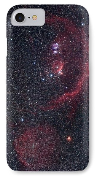 Orion Nebulae IPhone Case by Luis Argerich