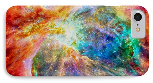 Orions Heart-where The Stars Are Born IPhone Case by Eti Reid