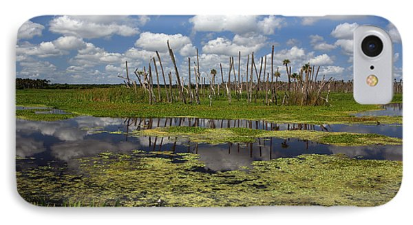 Orlando Wetlands Cloudscape 2 Phone Case by Mike Reid