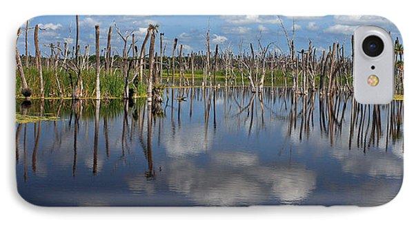 Orlando Wetlands Cloudscape 5 Phone Case by Mike Reid