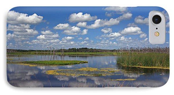 Orlando Wetlands Park Cloudscape 4 Phone Case by Mike Reid