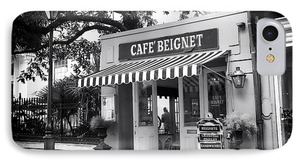 Orleans Cafe Beignet Phone Case by John Rizzuto