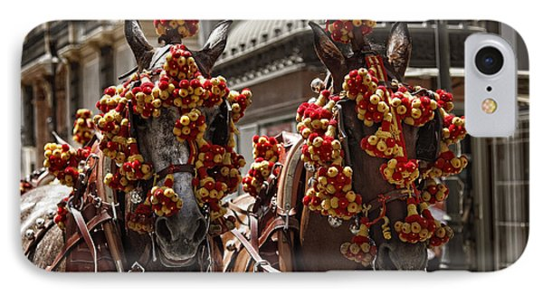 Ornamented Horses IPhone Case