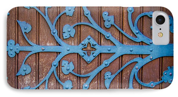 Ornate Church Door Hinge IPhone Case by Mr Doomits