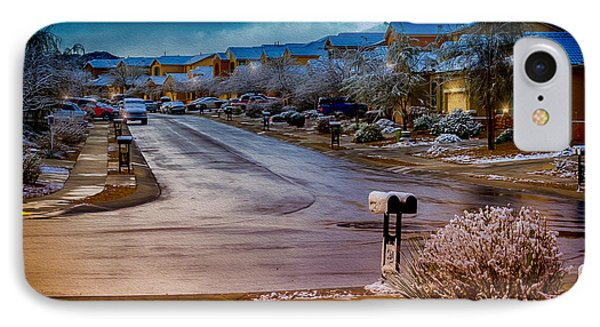 Oro Valley Winter No.54 IPhone 7 Case