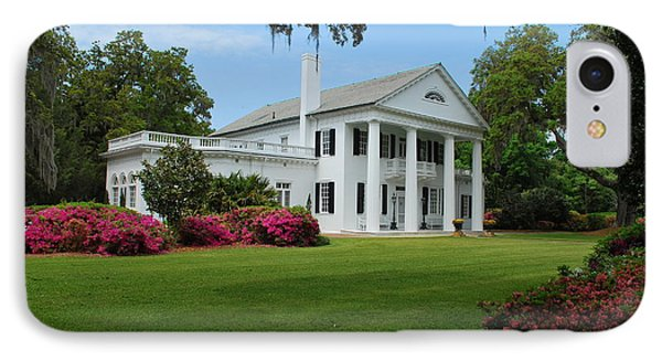 IPhone Case featuring the photograph Orton Plantation by Bob Sample