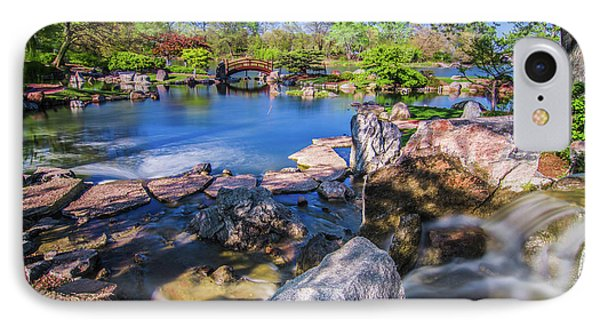 Osaka Japanese Garden IPhone Case by Jonah  Anderson