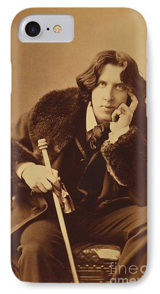 Oscar Wilde 1882 Phone Case by Napoleon Sarony
