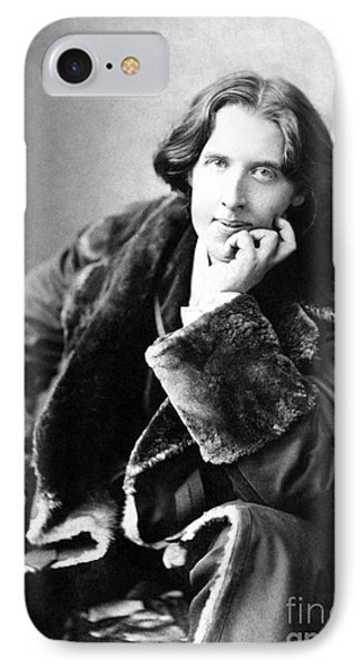 Oscar Wilde In His Favourite Coat 1882 Phone Case by Napoleon Sarony