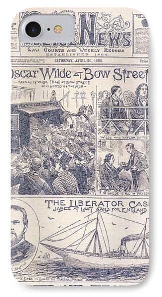Oscar Wilde Trial IPhone Case
