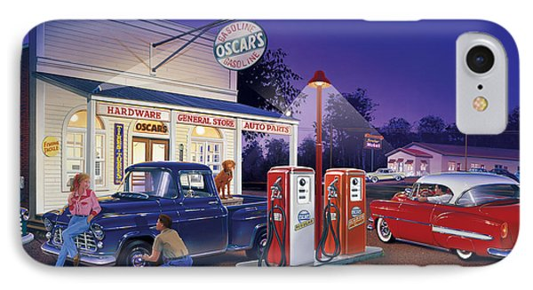 Oscar's General Store Phone Case by Bruce Kaiser