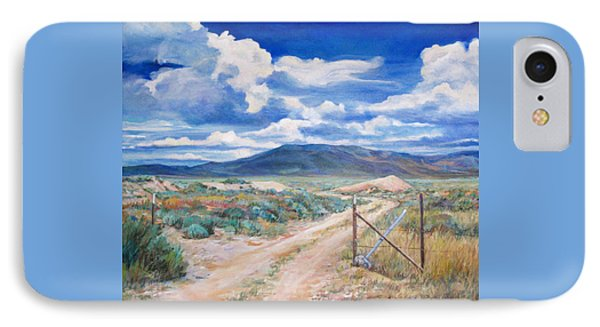 Osceola Nevada Ghost Town IPhone Case