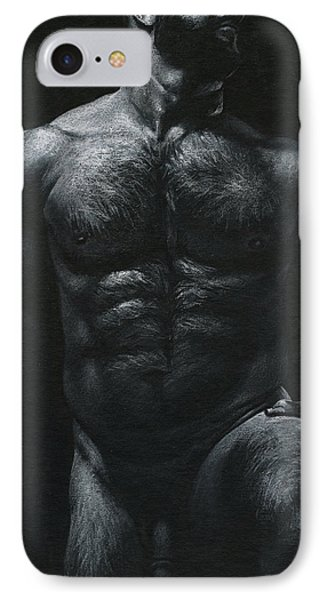 Oscuro 18 Phone Case by Chris Lopez