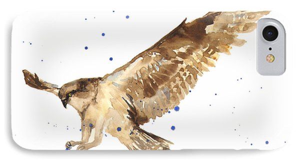 Osprey Painting IPhone Case by Alison Fennell